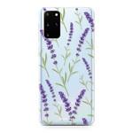FOONCASE Samsung Galaxy S20 Plus - Purple Flower