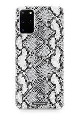 FOONCASE Samsung Galaxy S20 Plus hoesje TPU Soft Case - Back Cover - Snake it / Slangen print