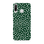 FOONCASE Huawei P30 Lite - POLKA COLLECTION / Green