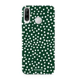FOONCASE Huawei P30 Lite - POLKA COLLECTION / Verde