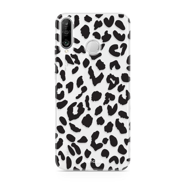 FOONCASE Huawei P30 Lite Handyhülle - Leopard