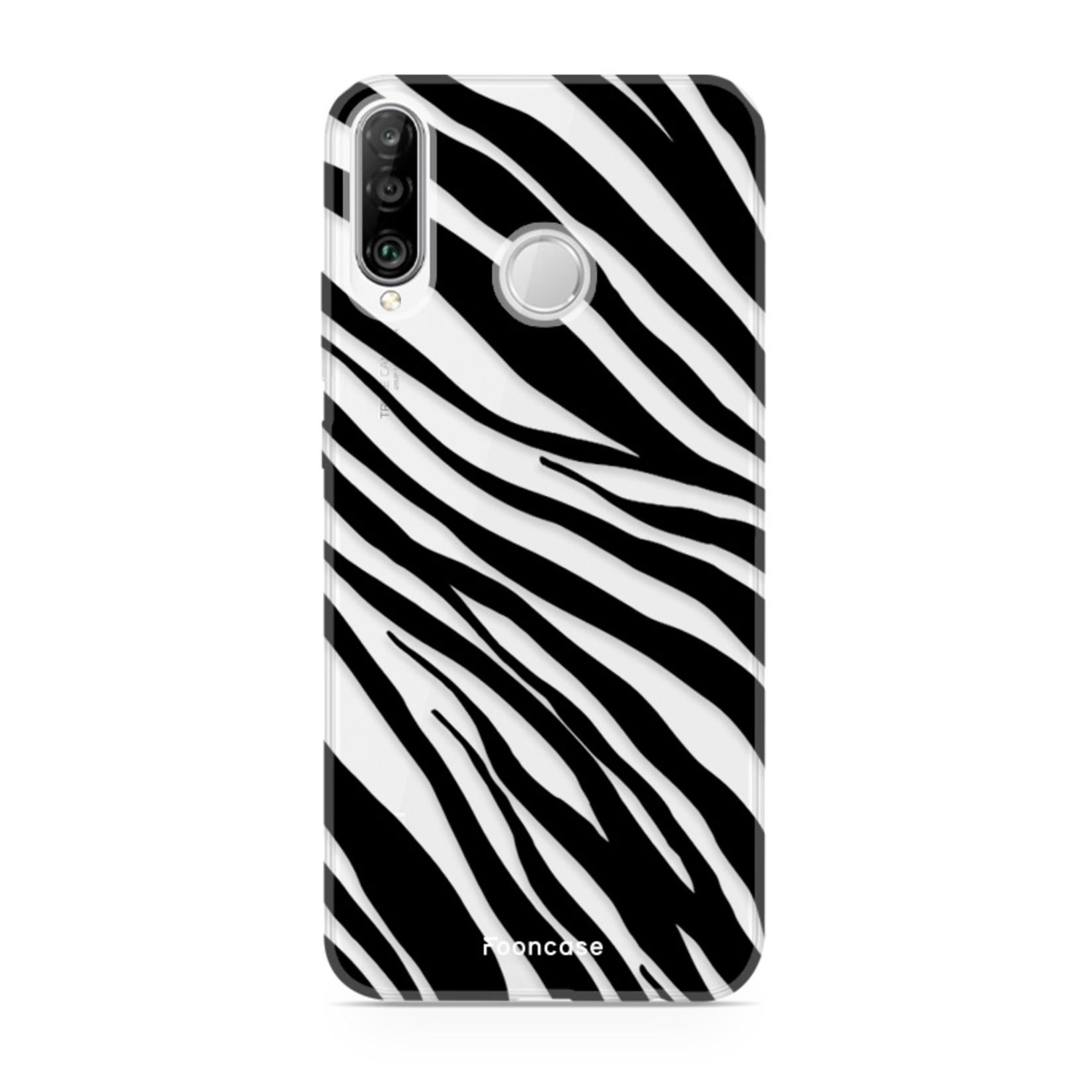 FOONCASE Huawei P30 Lite Handyhülle - Zebra