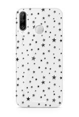 FOONCASE Huawei P30 Lite hoesje TPU Soft Case - Back Cover - Stars / Sterretjes