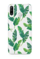 FOONCASE Huawei P30 Lite Handyhülle - Bananenblätter