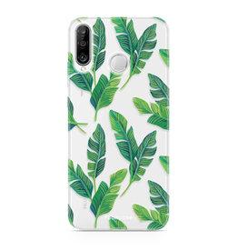 FOONCASE Huawei P30 Lite - Banana leaves