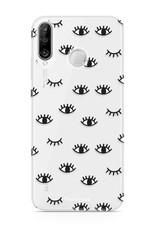 FOONCASE Huawei P30 Lite Handyhülle - Eyes