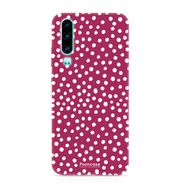 FOONCASE Huawei P30 - POLKA COLLECTION / Rood