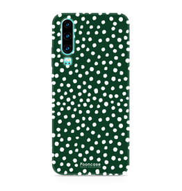 FOONCASE Huawei P30 - POLKA COLLECTION / Groen