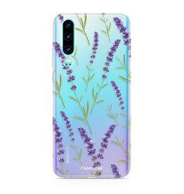 FOONCASE Huawei P30 - Purple Flower