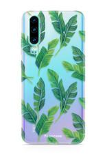 FOONCASE Huawei P30 Handyhülle - Bananenblätter
