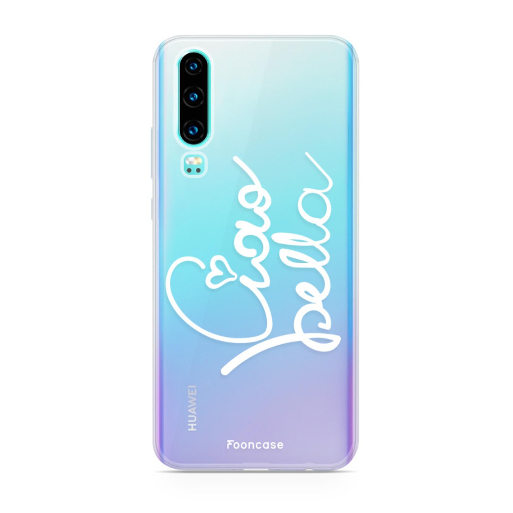 FOONCASE Huawei P30 Handyhülle - Ciao Bella!