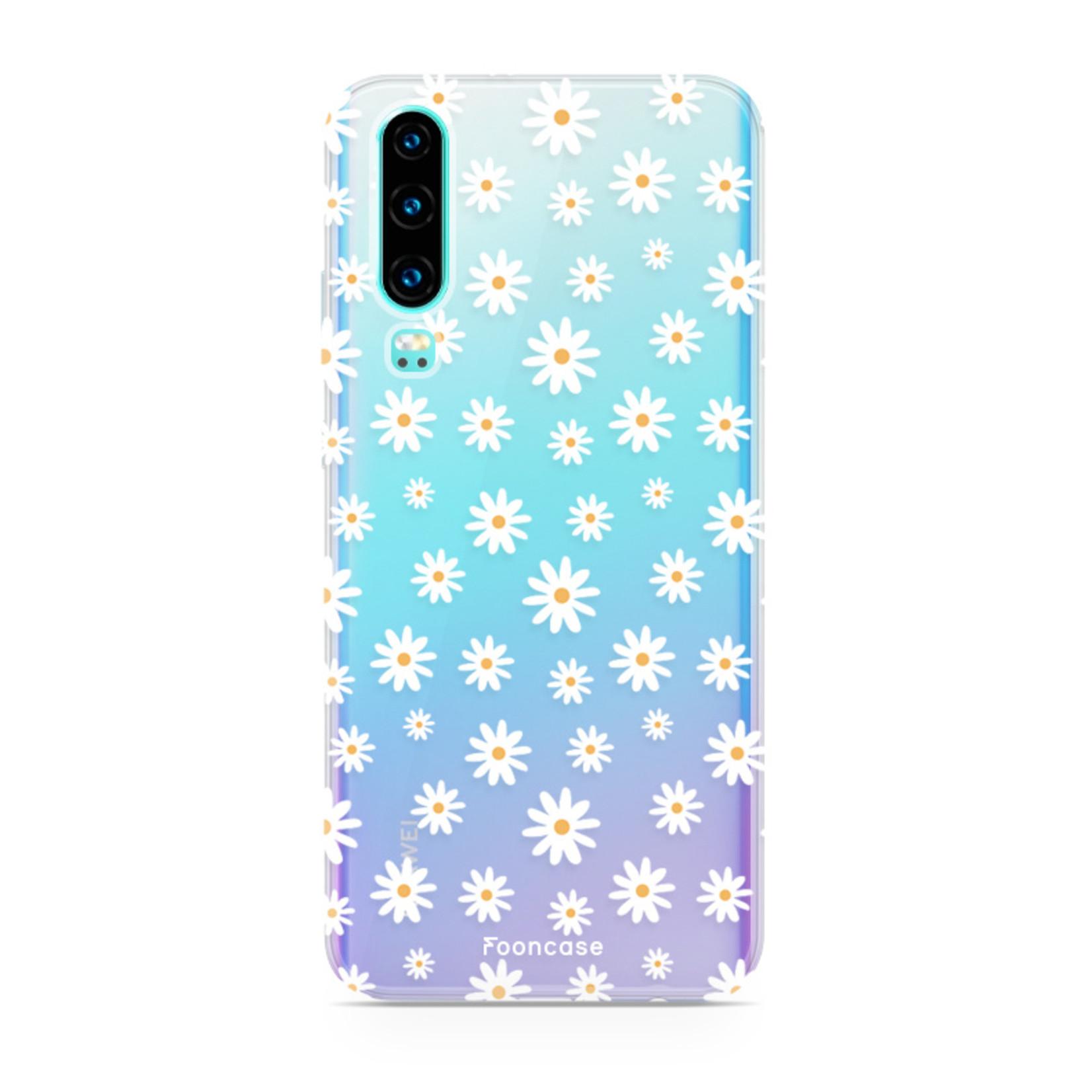 FOONCASE Huawei P30 Handyhülle - Gänseblümchen