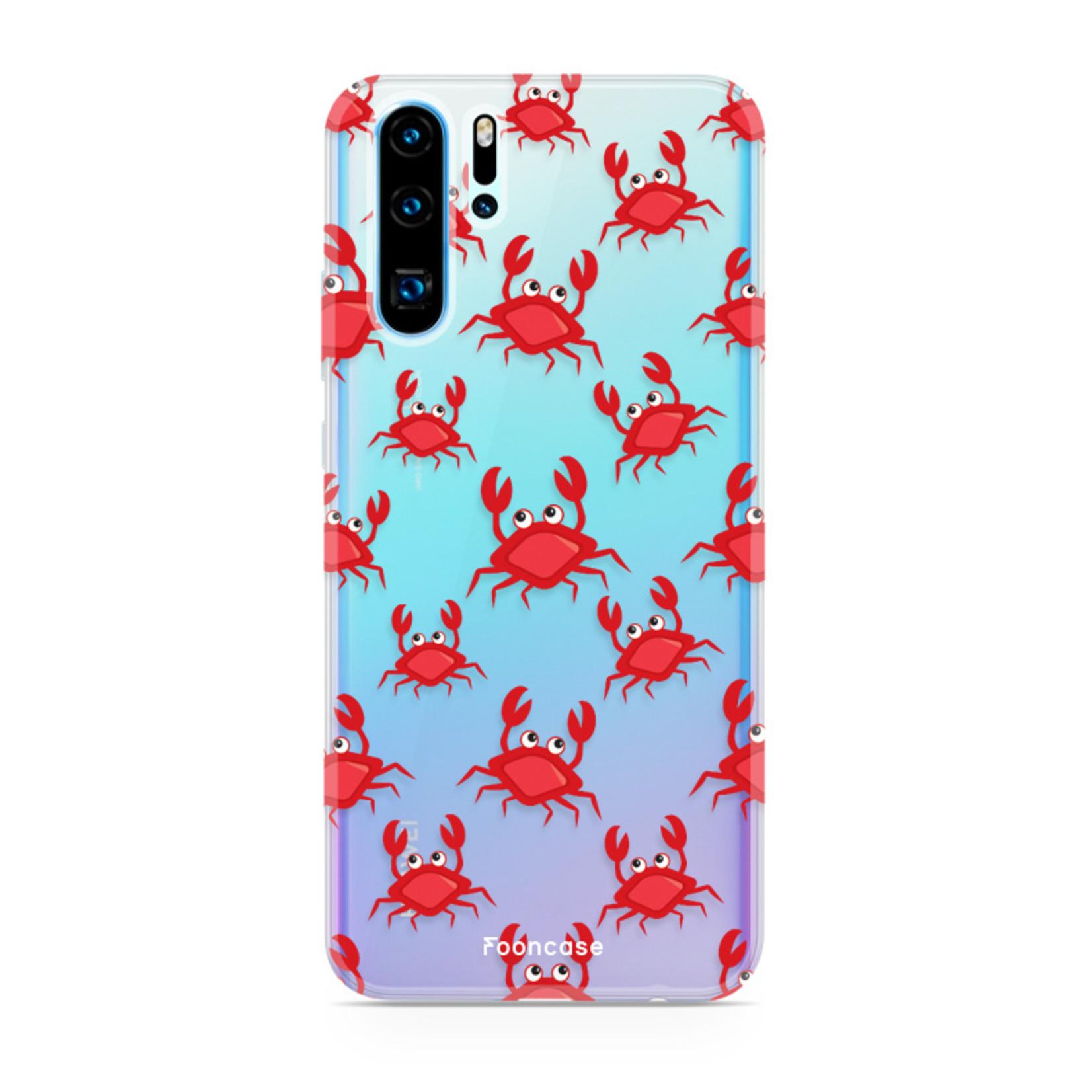 FOONCASE Huawei P30 Pro hoesje TPU Soft Case - Back Cover - Crabs / Krabbetjes / Krabben