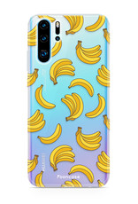 FOONCASE Huawei P30 Pro hoesje TPU Soft Case - Back Cover - Bananas / Banaan / Bananen