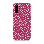FOONCASE Huawei P30 Pro - POLKA COLLECTION / Rood