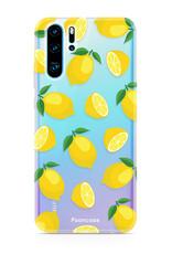 FOONCASE Huawei P30 Pro hoesje TPU Soft Case - Back Cover - Lemons / Citroen / Citroentjes