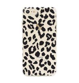 FOONCASE iPhone SE (2020) - Luipaard print