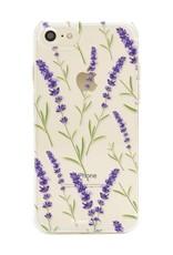FOONCASE iPhone SE (2020) - Purple Flower