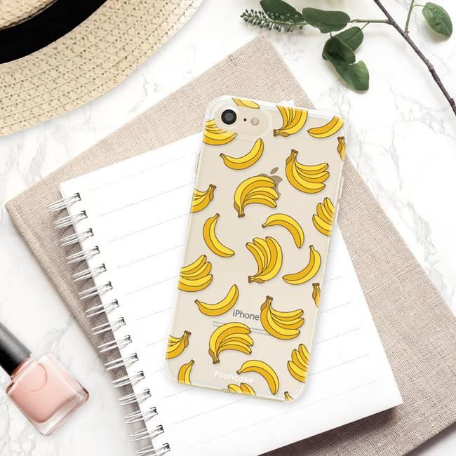 FOONCASE iPhone SE (2020) Handyhülle - Bananas