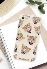 FOONCASE iPhone SE (2020) Handyhülle - Cheeky Leopard