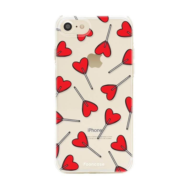 FOONCASE iPhone SE (2020) Handyhülle - Love Pop