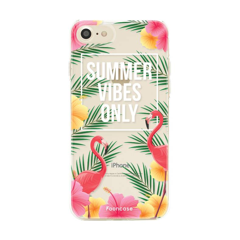 FOONCASE iPhone SE (2020) Handyhülle - Summer Vibes Only