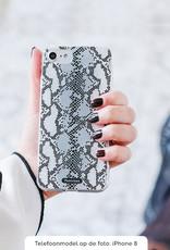 FOONCASE iPhone SE (2020) hoesje TPU Soft Case - Back Cover - Snake it / Slangen print