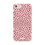FOONCASE iPhone SE (2020) - POLKA COLLECTION / Rosa