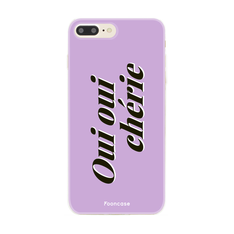 FOONCASE Iphone 8 Plus Case - Oui Oui Chérie