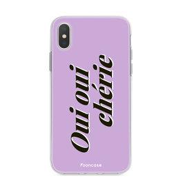 FOONCASE Iphone Xs - Oui Oui Chérie