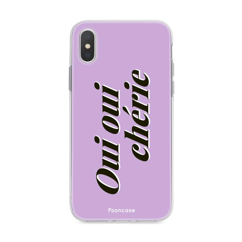 FOONCASE Iphone Xs Case - Oui Oui Chérie