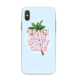 FOONCASE iPhone X - Beach Hair Don't Care