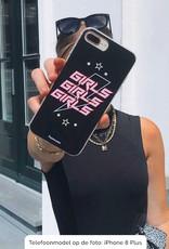 FOONCASE Samsung Galaxy A71 hoesje TPU Soft Case - Back Cover - Rebell Girls (sterretjes bliksem girls)