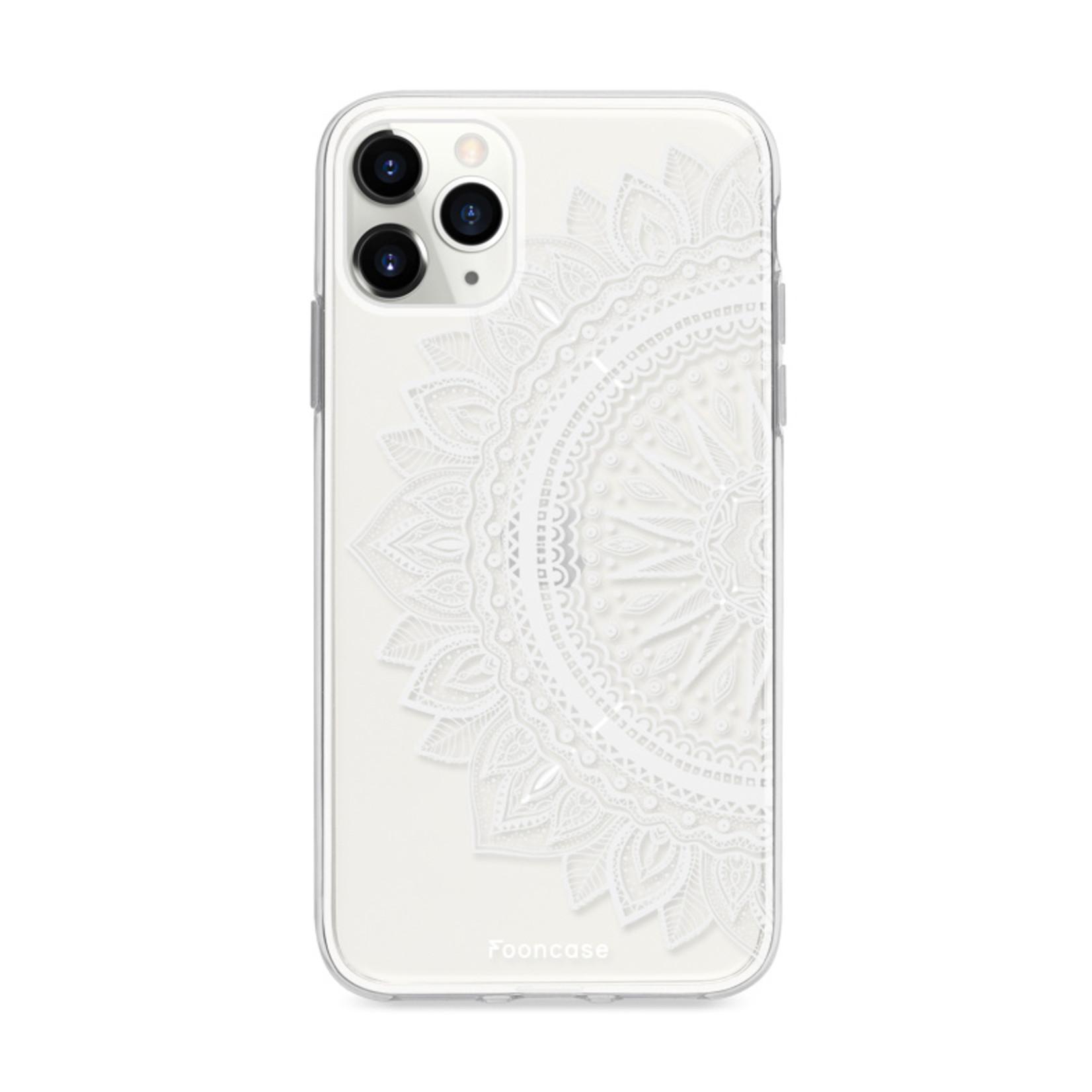 FOONCASE iPhone 12 Pro Max hoesje TPU Soft Case - Back Cover - Mandala / Ibiza