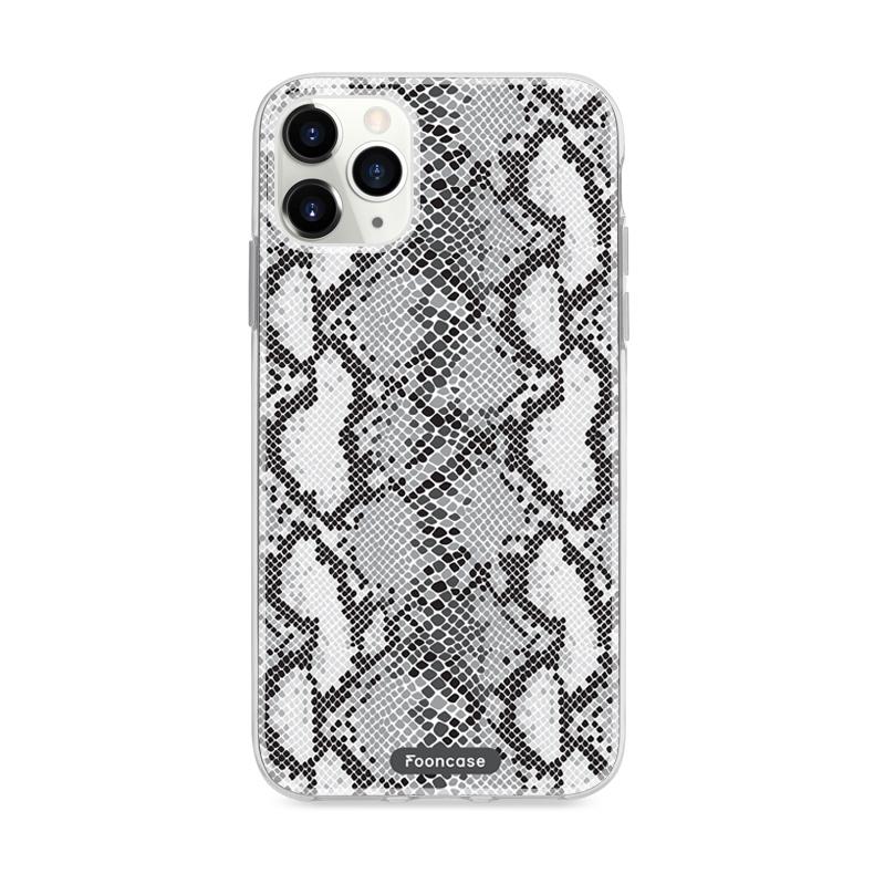 FOONCASE iPhone 12 Pro Max - TPU Soft Case - Back Cover telefoonhoesje TPU Soft Case - Back Cover - Slangen print