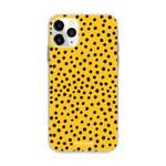 FOONCASE IPhone 12 Pro Max - POLKA COLLECTION / Oker Geel