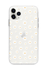 FOONCASE iPhone 12 Pro hoesje TPU Soft Case - Back Cover - Madeliefjes