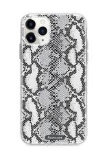 FOONCASE iPhone 12 Pro hoesje TPU Soft Case - Back Cover Ð Snake it / Slangen print