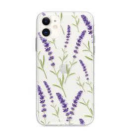 FOONCASE Iphone 12 - Purple Flower
