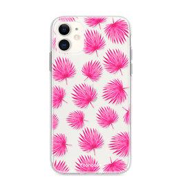 FOONCASE Iphone 12 - Pink leaves