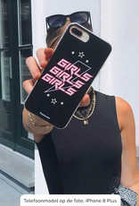 iPhone 12 hoesje TPU Soft Case - Back Cover - Rebell Girls (sterretjes bliksem girls)
