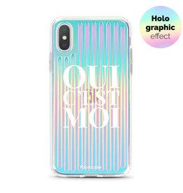 FOONCASE iPhone X - Oui C'est Moi (Holographic)