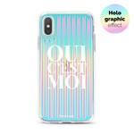 FOONCASE iPhone XS- Oui C'est Moi (Holographic)