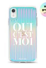 FOONCASE iPhone XR Handyhülle - Oui C'est Moi (Holographic)