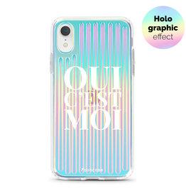 FOONCASE iPhone XR - Oui C'est Moi (Holographic)