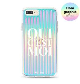 FOONCASE iPhone 8 Plus - Oui C'est Moi (Holographic)