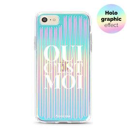 FOONCASE iPhone 8 - Oui C'est Moi (Holographic)