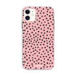 FOONCASE iPhone 12 Mini - POLKA COLLECTION / Rosa