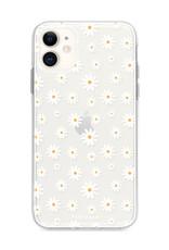 FOONCASE iPhone 12 Mini hoesje TPU Soft Case - Back Cover - Madeliefjes