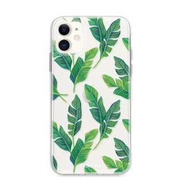 FOONCASE iPhone 12 Mini - Bananenblätter